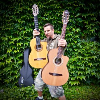 "Robert ""Litza"" Friedrich i jego nowa gitara Camps Crossover"